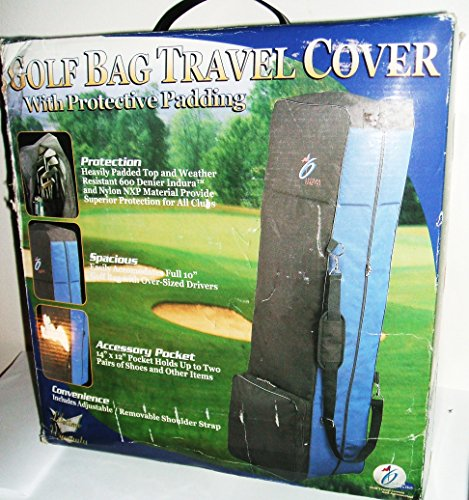 InGear Golf Bag Travel Cover with Protective Padding by INGEAR