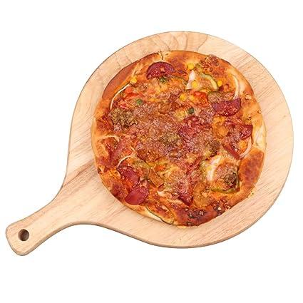 Bandeja de pizza Bandejas para Horno Pizza Tablero de Pizza Panificadora Bandeja de Pan Bandeja doméstica