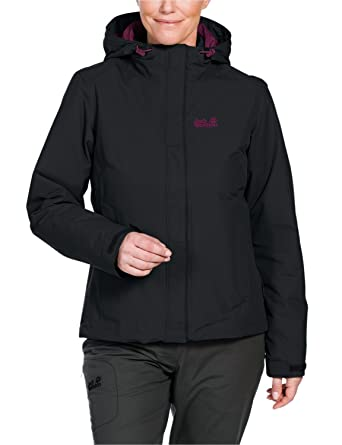 sale retailer 59df5 75601 Jack Wolfskin Damen 3-in-1 Jacke Crush n Ice: Amazon.de ...
