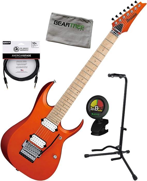 Ibanez RGD3127 ROF Prestige 7str Roadster - Guitarra eléctrica con sintonizador, cable, soporte y gamuza: Amazon.es: Instrumentos musicales