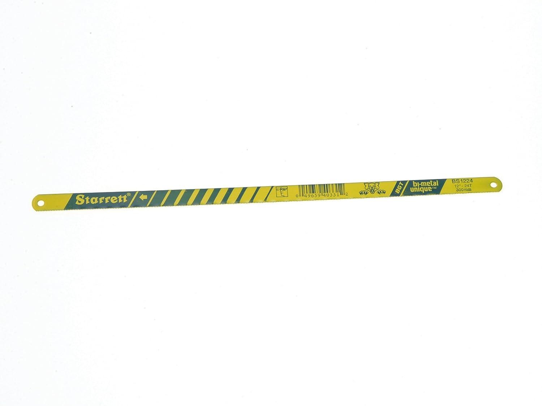 Starrett KBS1232-2 Bi-Metal Unique High Speed Steel Safe-Flex Hacksaw Frame Blade, 0.025