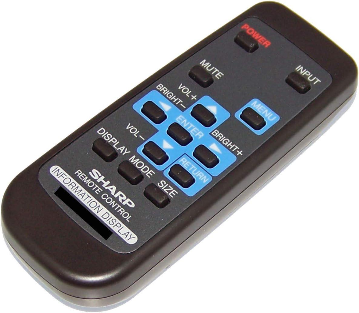 PN-H701 OEM Sharp Remote Control Originally Shipped with PNE603 PNE703 PN-E603 PNH701 PN-E703