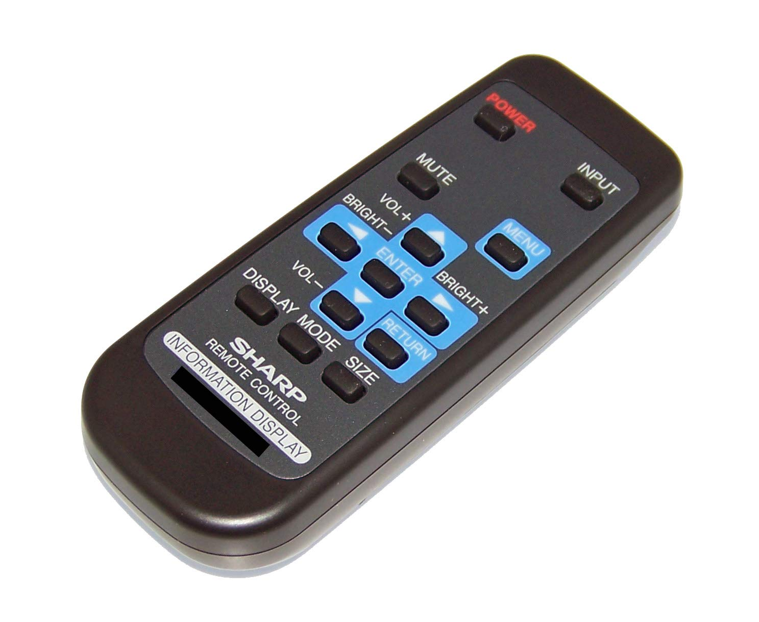 OEM Sharp Remote Control Originally Shipped with PNE603, PN-E603, PNE703, PN-E703, PNH701, PN-H701