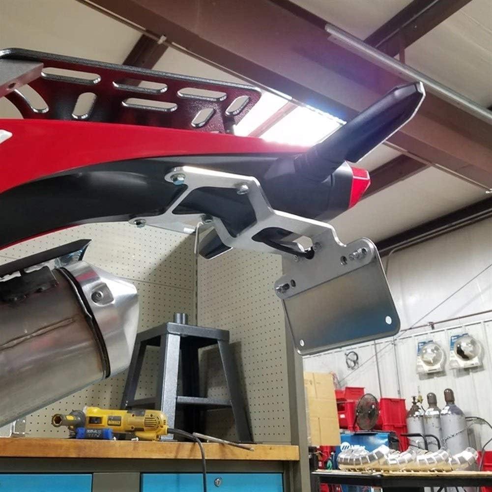 For Honda CRF450L 2019-2020 Trasero de la Motocicleta Cola del sostenedor de la matr/ícula Tidy Fender Eliminator equiparla Negro Soportes de matr/ículas