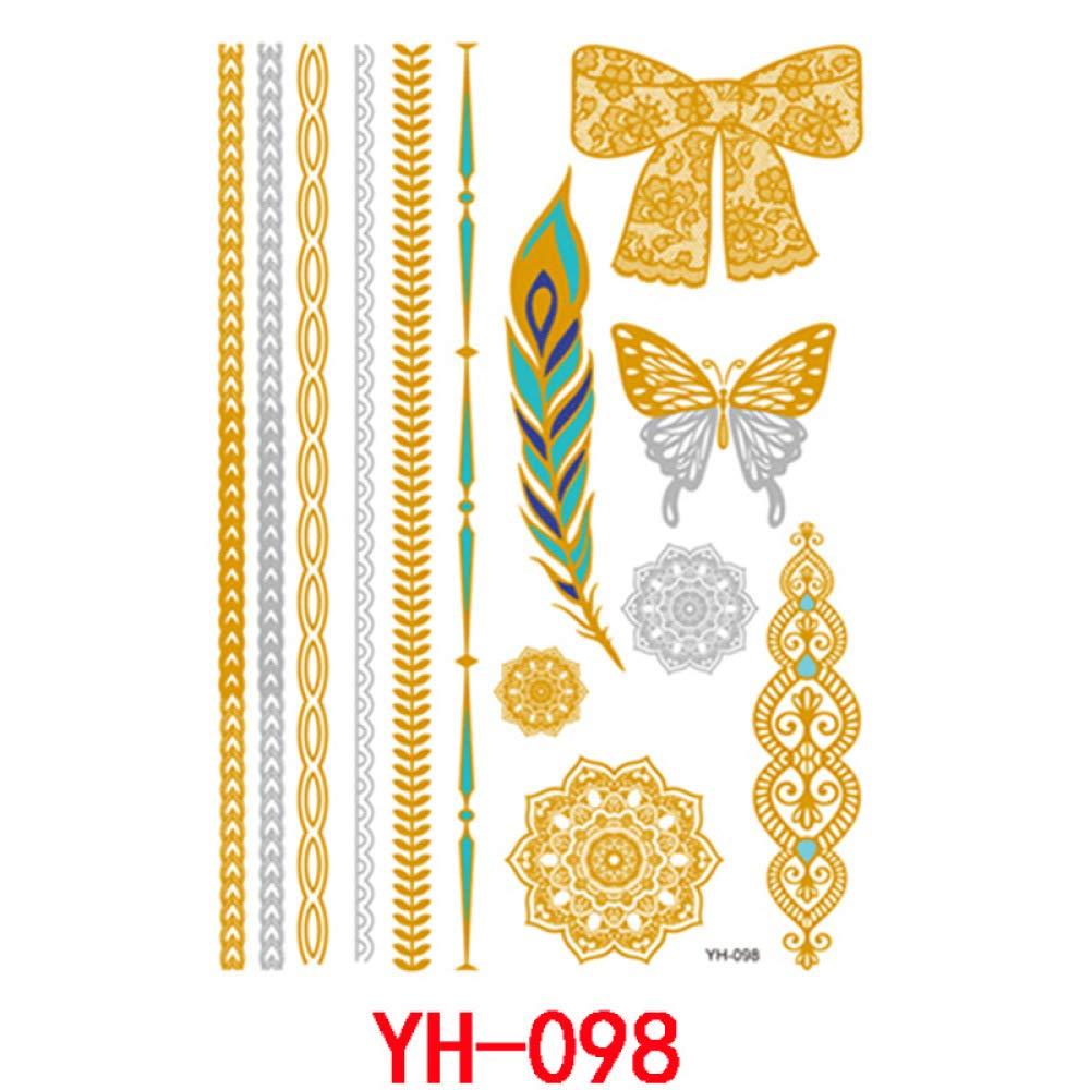 9 piezas pegatinas de tatuaje personalizadas lindas pegatinas de ...