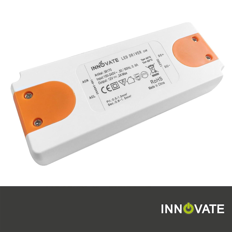 Innovate LED Trafo ECO 12V/DC, 0-24W - Transformator - Netzteil - Driver