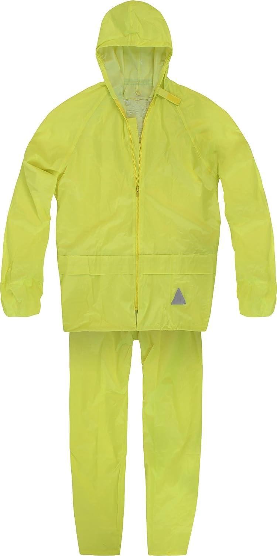 Traje impermeable unisex de adulto (chaqueta y pantalón ...