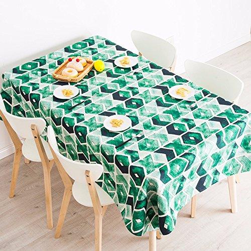 140 * 240 cm verde geométrico moderno escandinavo ins Instagram ...
