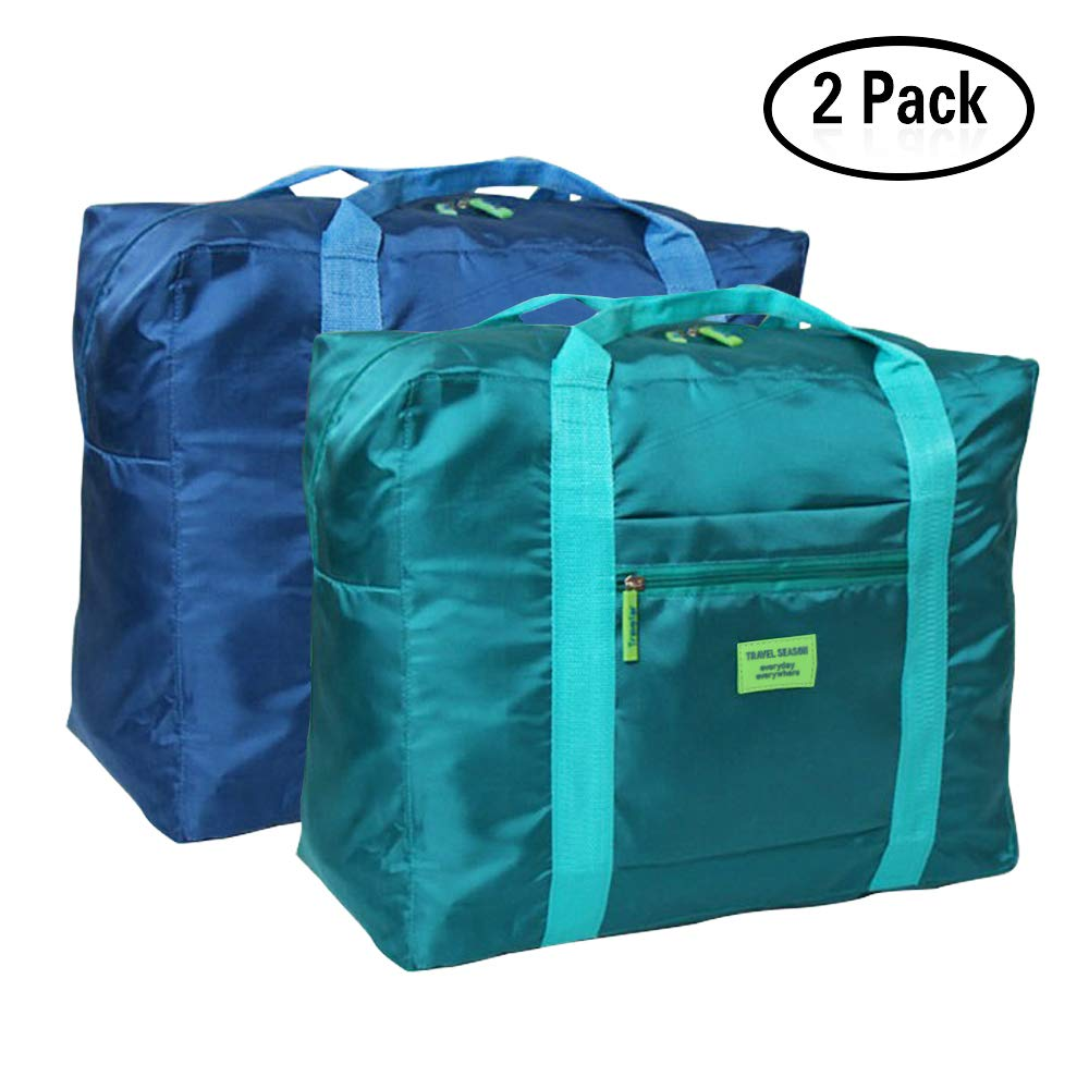 Foldable Travel Duffel Bag 20'' Lightweight Waterproof Travel Luggage Bag(Pack of 2)