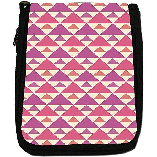 Fancy Snuggle Sac Shabby À Femme L'épaule Pour Triangle Porter Pattern A Retro 6A6rqWwa4