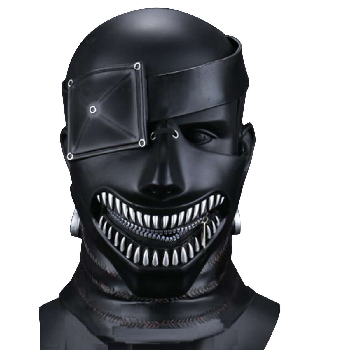 Amazon.com: NSOKing Hot Film Tokyo Ghoul Mask Cosplay Kaneki Ken 3D ...
