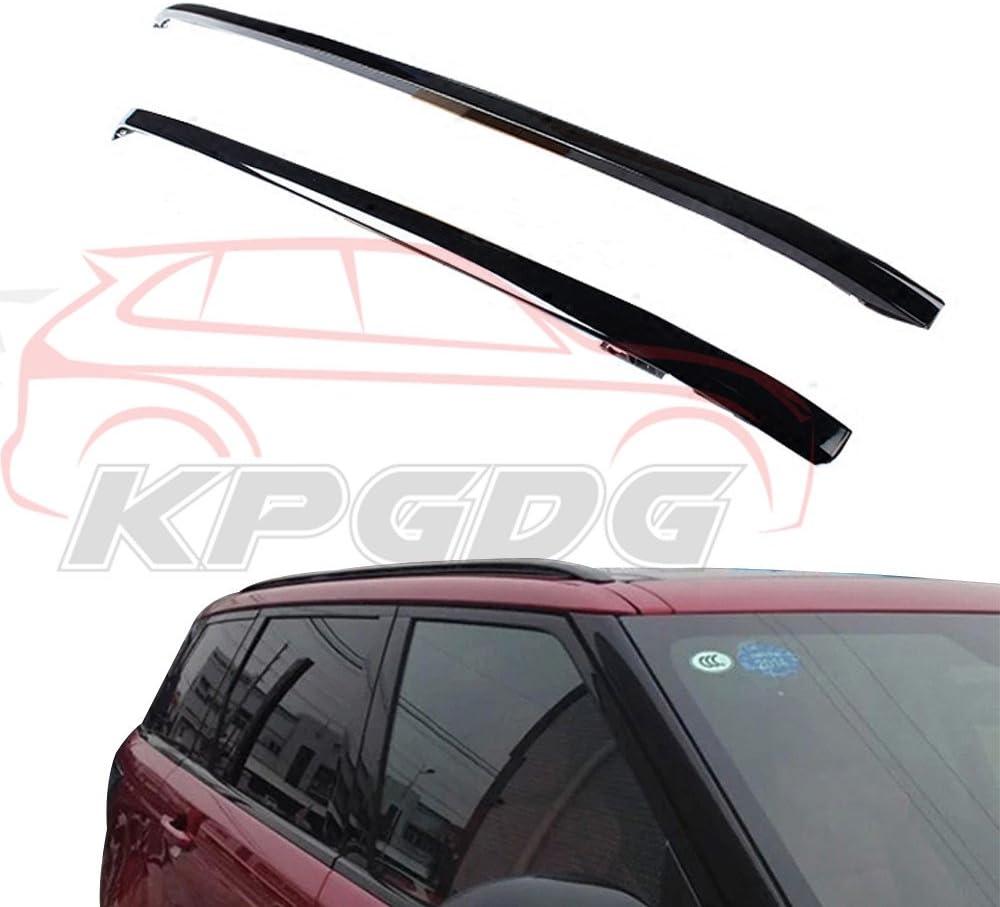 KPGDG Fit for Land Rover Range Rover Sport 2014-2019 2 Pcs Aluminium Roof Rail Roof Rack Side Rail Bar - Black