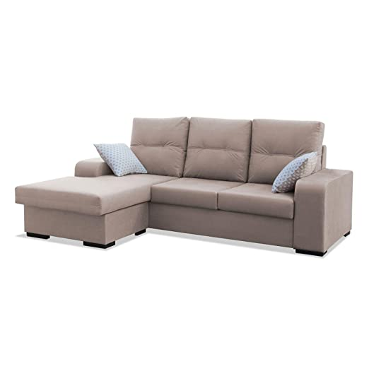 Mueble Sofa ChaiseLongue, MONTADO DE FABRICA, 3 plazas ...