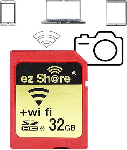 Ez Share 32gb Adapter Wifi Sdhc Karte Class10 Sd Karte Computer Zubehör