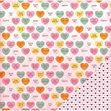 "American Crafts""""Candy Hearts Valentine"