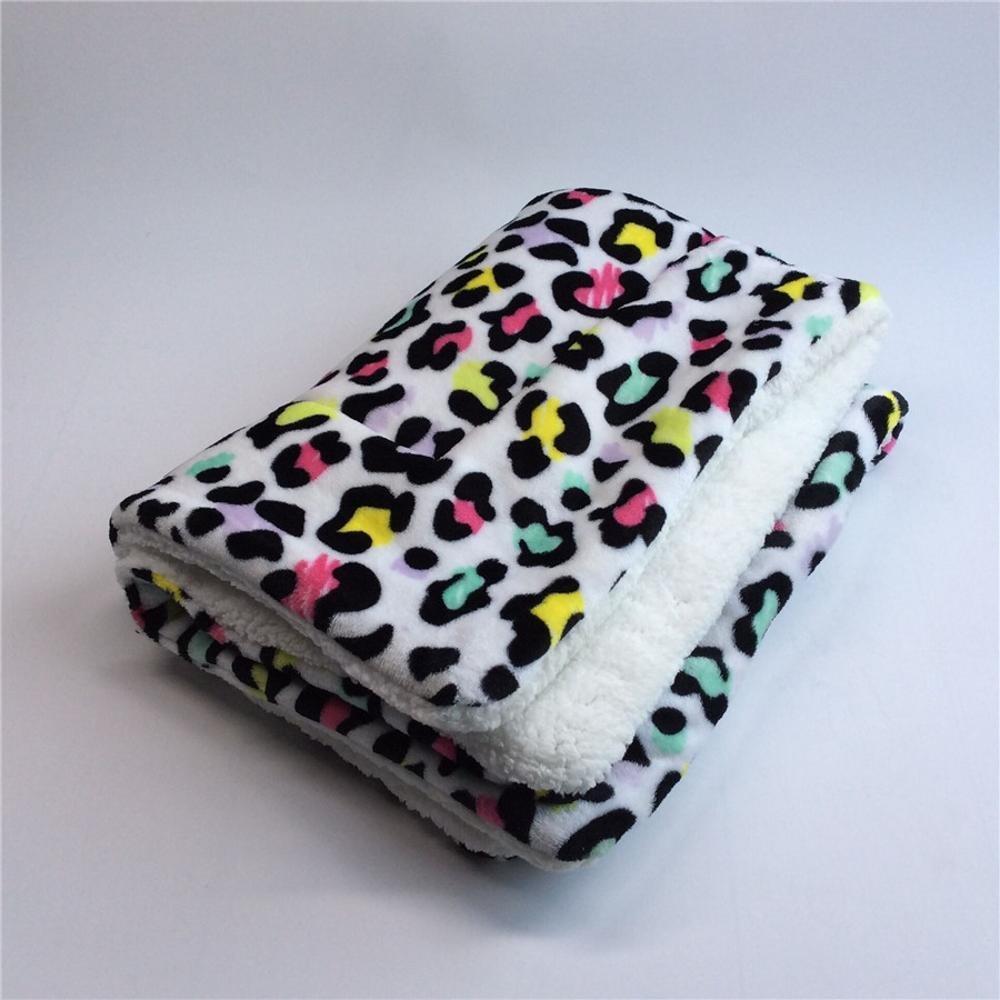 C 4160cm C 4160cm Weiwei Dog bed Cotton Velvet Mat Kennel mat padded puppy blanket car blanket