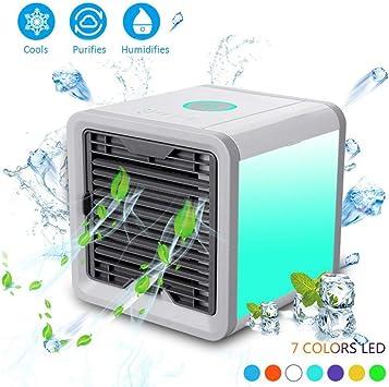 SanSe Arctic Air - Mini ventilador de aire acondicionado, 3 en 1 ...