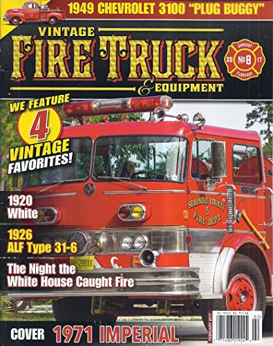 - Vintage Fire Truck & Equipment Magazine (February 2017 - Cover: 1971 Imperial)