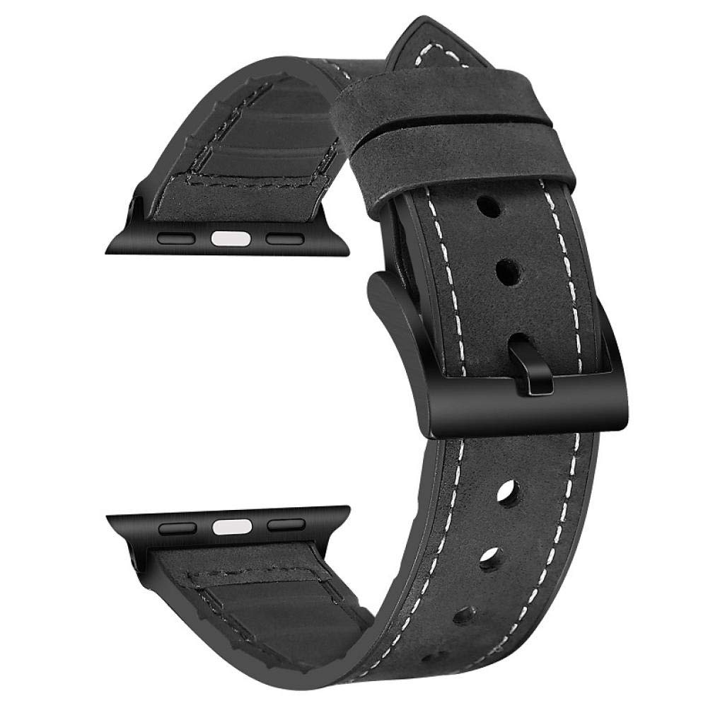 New for Apple Watch Band 38mm 38 Series 2 Series 3 Series 4 I3 for for Apple Watch Band 42m for Apple Watch Band for 3 4 Bands 4s S2 Watch Holder for Women 4series for Apple Watch (Black, 38mm40mm)