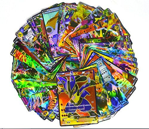 Popular 20pcs Pokemon EX Card All MEGA Holo Flash Trading Cards Charizard Venusaur (Scanner Pokemon Cards)