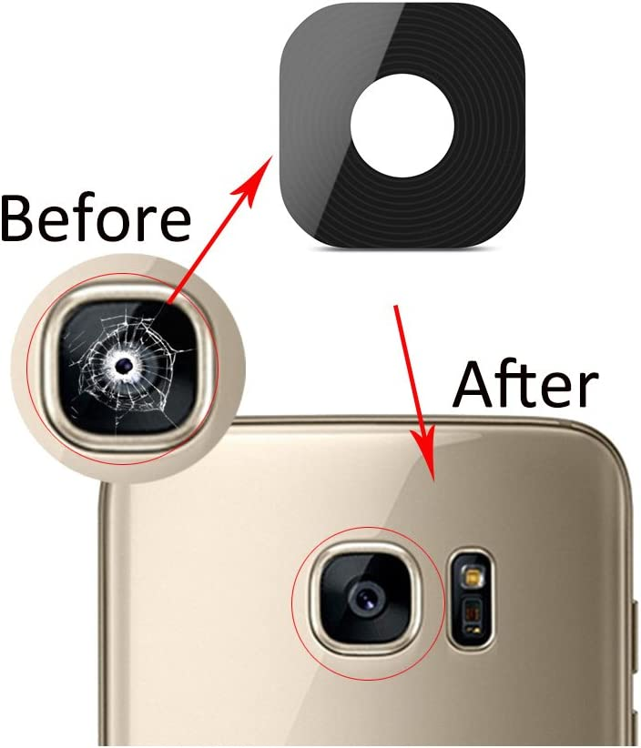 oGoDeal 2 Pack Back Rear Camera Glass Lens Cover Replacement for Samsung Galaxy S8//S8 Plus with Tool Kit and Adhesive Preinstalled