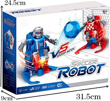 TEEKOO 2.4 GHz RC Soccer Robot Toy, Wireless Remote Control Two ...