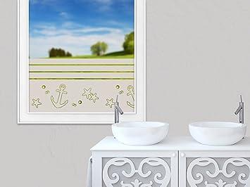 Amazon.de: GRAZDesign 990097_100x57_GS Sichtschutzfolie Fensterfolie ...