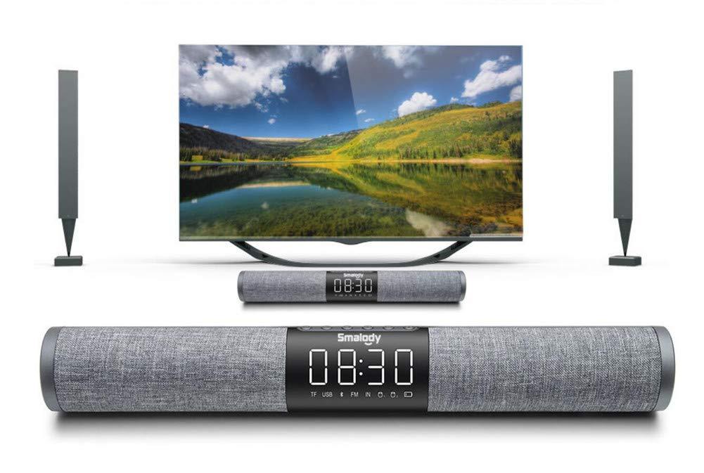 QTMY Surround Sound Loud TV Speakers Bar,Wireless Bluetooth Audio Stereo Desktop Speakers