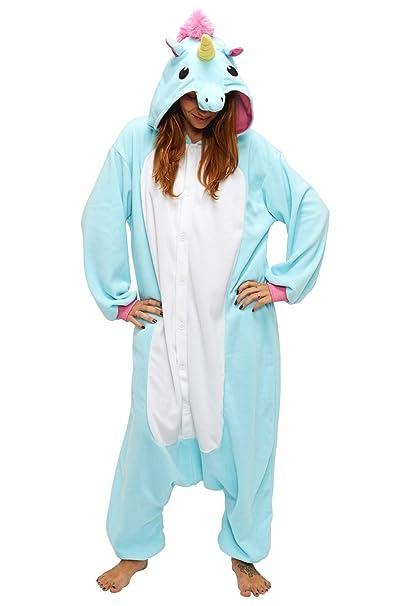 nuovo di zecca e2ff7 d4e08 BienBien Pigiama Unicorno Adulto Animali Kigurumi Costumi di ...
