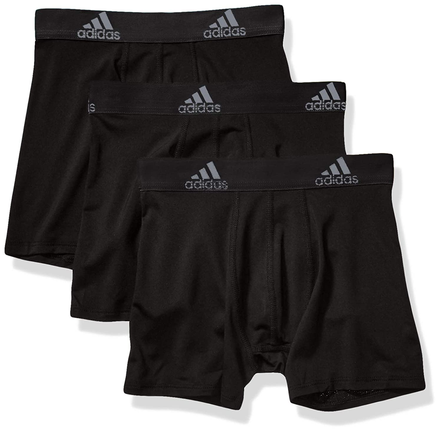 4d48aaeaad Amazon.com: adidas Sport Performance Climalite Boxer Briefs Underwear (3-Pack):  Clothing