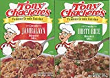 Tony Chachere's Creole Dinner Mix Bundle: Two 8 Oz Boxes of Creole Jambalaya Mix and Two 8 Oz Boxes of Creole Dirty Rice Mix