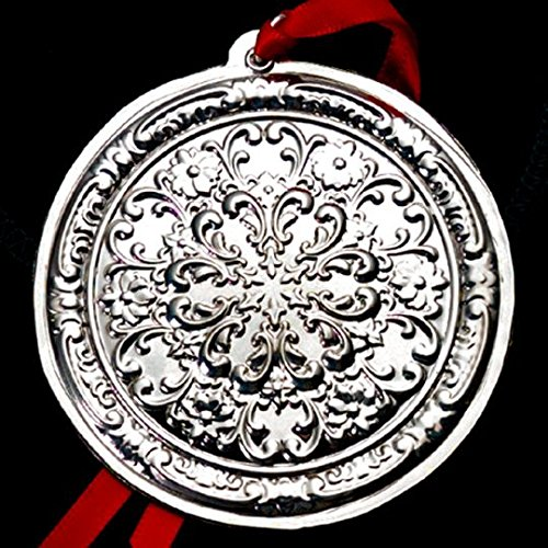 2003 Rosette Sterling Christmas Ornament Towle Old Master 2nd Edition