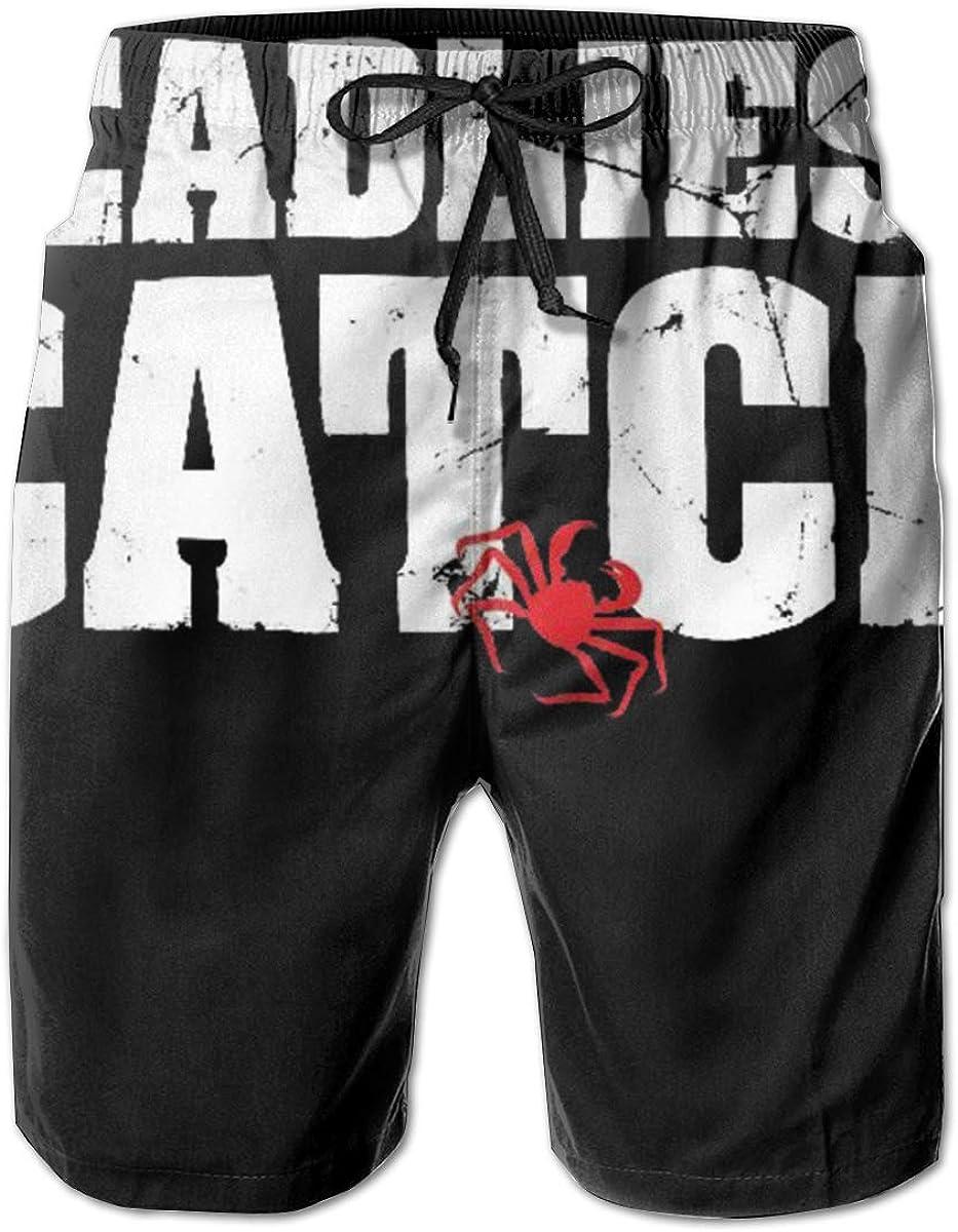 Lidanie Cool and Stylish Mens Beach Shorts Deadliest Catch