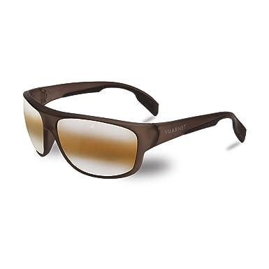20786215f6 Image Unavailable. Image not available for. Color  Vuarnet VL140200202136  Large Racing Sunglasses Dark Grey Matte Transparent Frame BrownLynx Glass  Lens