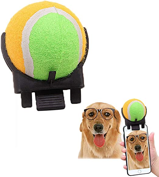 Mascotas Selfie Stick Ball Portable Smartphone CáMara Apego Perro ...