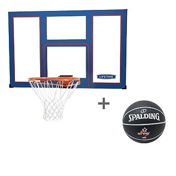 Lifetime Set Baloncesto Back tarjeta Toronto con Spalding ...