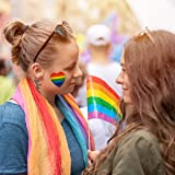 1100 Pieces Gay Pride Stickers, Love Rainbow