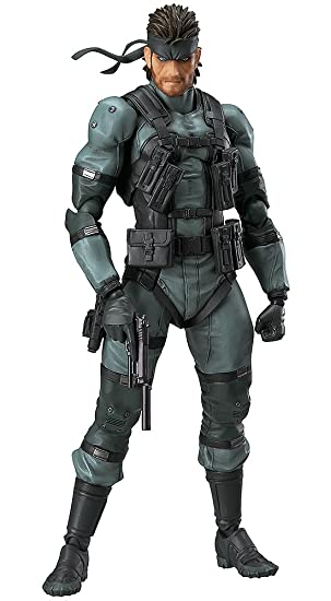 Max Factory Metal Gear Solid 2 Solid Snake Figma Figure