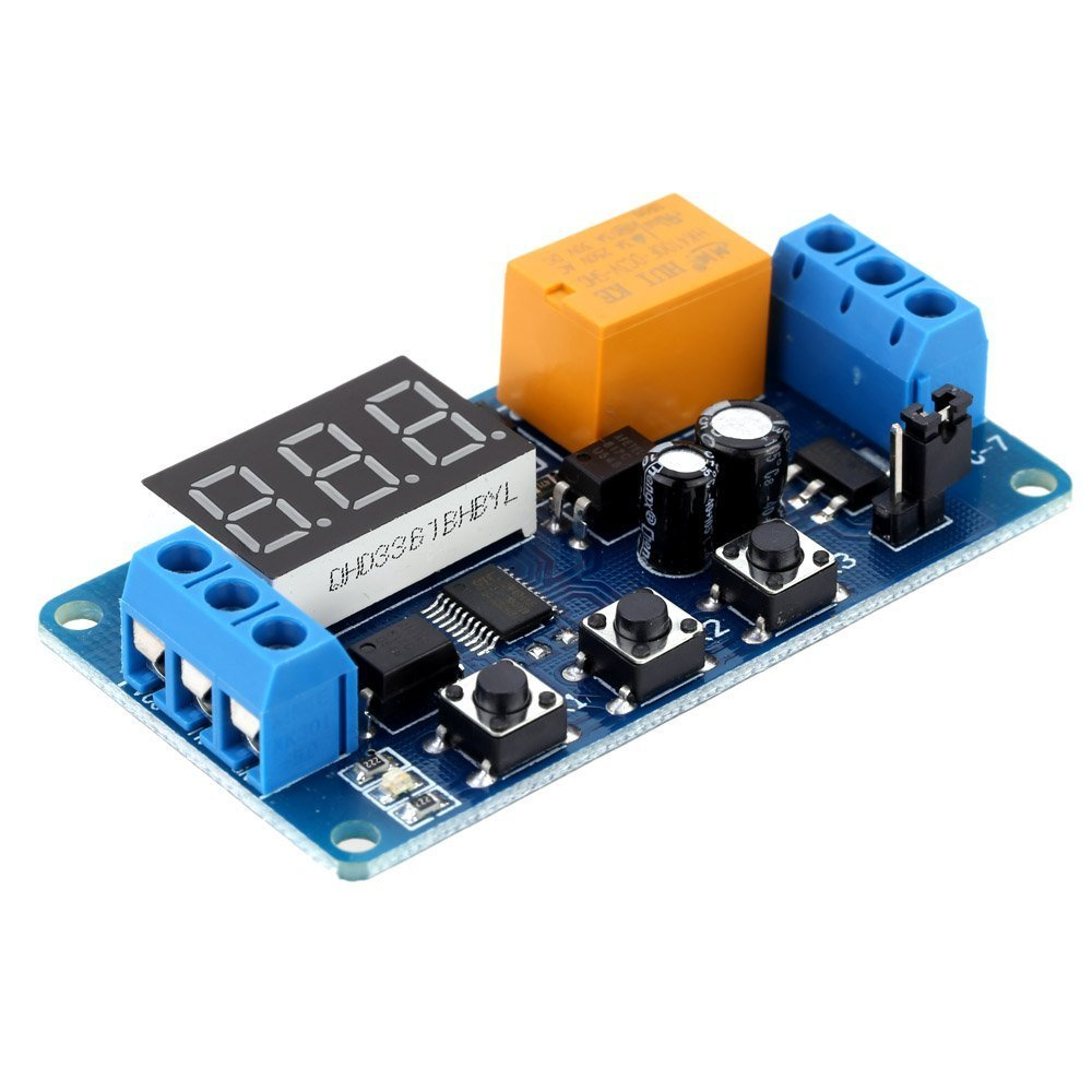 Kkmoon digitale display a LED domotica delay timer di controllo rel/è interruttore modulo 3/V//V//V//V//V