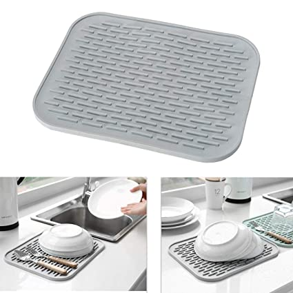 89f087d8b49 Intget Silicone Trivets Pot Holder Kitchen Tray Table Place Mat Non-Slip  Soft Flexible Heat