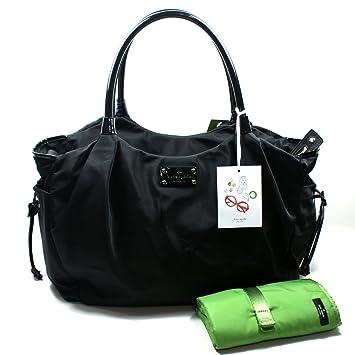 31ec48ec65d0 Amazon.com : Kate Spade Stevie Baby Bag Basic Nylon Black Diaper Bag  (Black) #WKRU1370 : Diaper Tote Bags : Baby