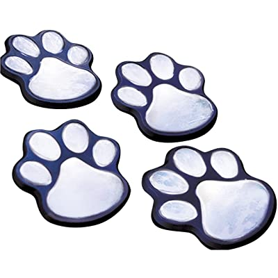 LED Solar Power Paw Animal Prints Lights Garden Outdoor Lamp Path Landscape New : Garden & Outdoor