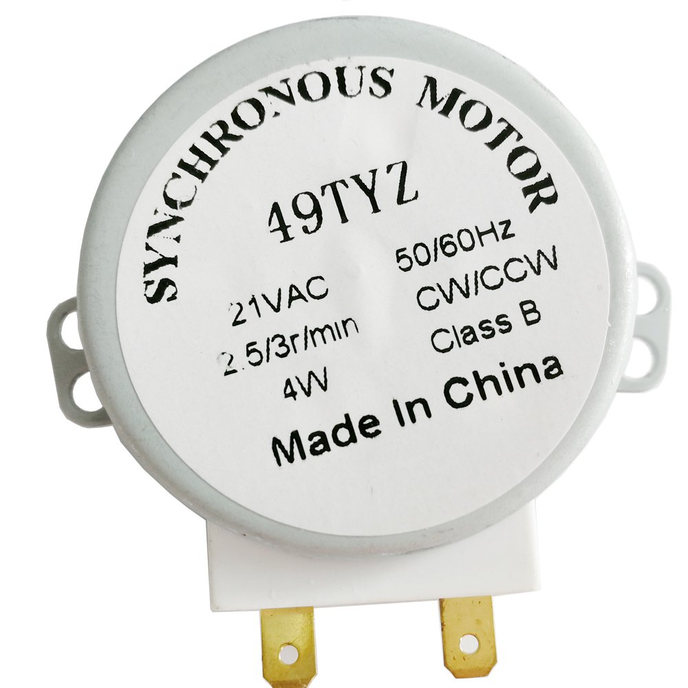 Ximoon WB26X10038 EX73SAAA3 microwave turntable motor for GE AP2024962 PS237772 and Frigidaire 5304408980