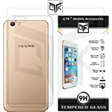 TheGiftKart Soft Clear Back Cover + Tempered Glass for Oppo F1S