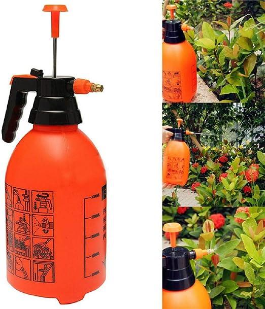 Xiaolan - Pulverizador manual de agua portátil de 3 l, apto para riego de jardín con válvula de alivio de presión: Amazon.es: Jardín