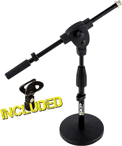 SKP PRO AUDIO SP-4- Soporte de micrófono para batería ...