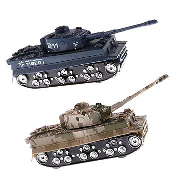IPOTCH 2 Piezas 1/32 Escala Maqueta de Tanque Alemán Modelo ...