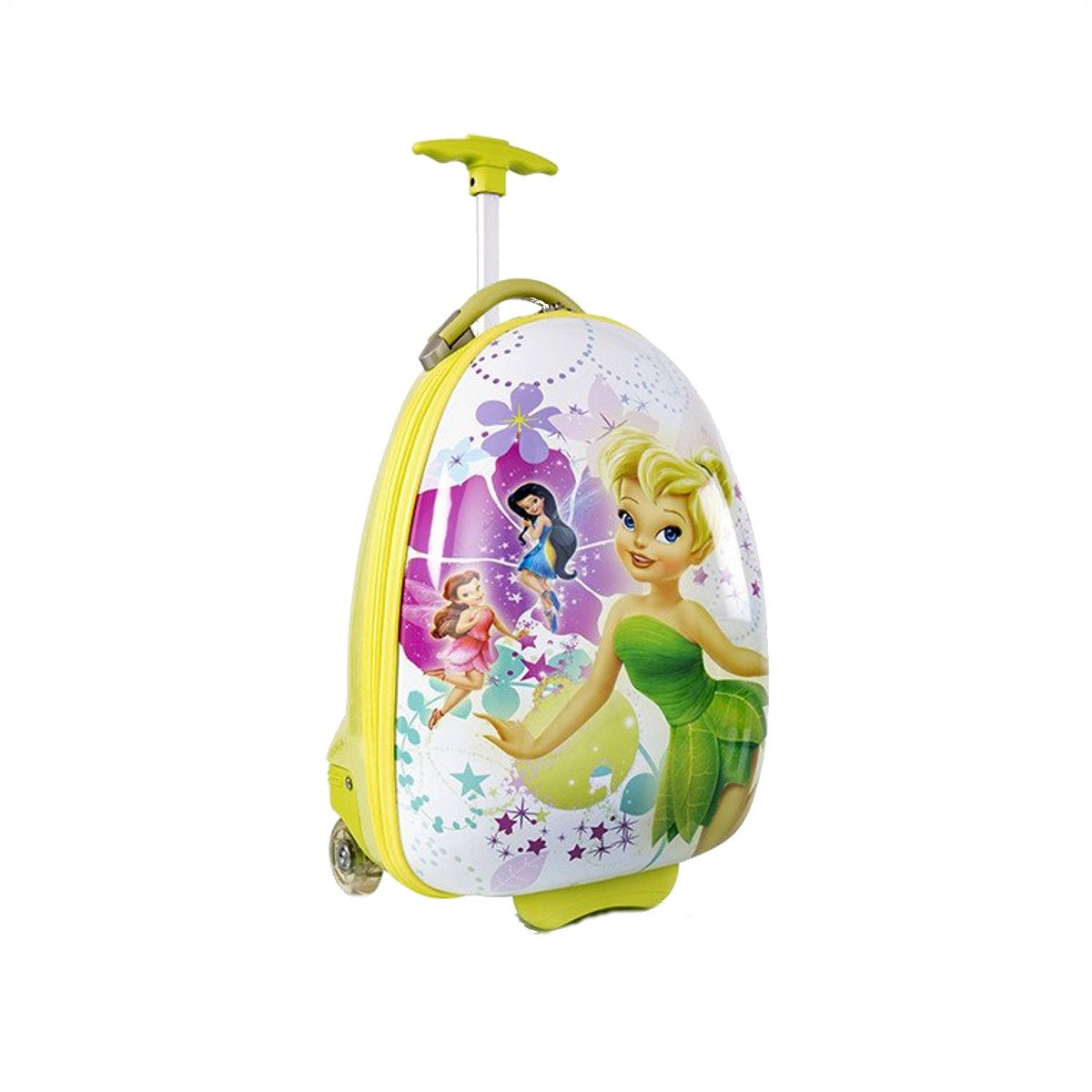 Heys Disney Fairies Super Cute Kids Carry on Approved Luggage 18 inch