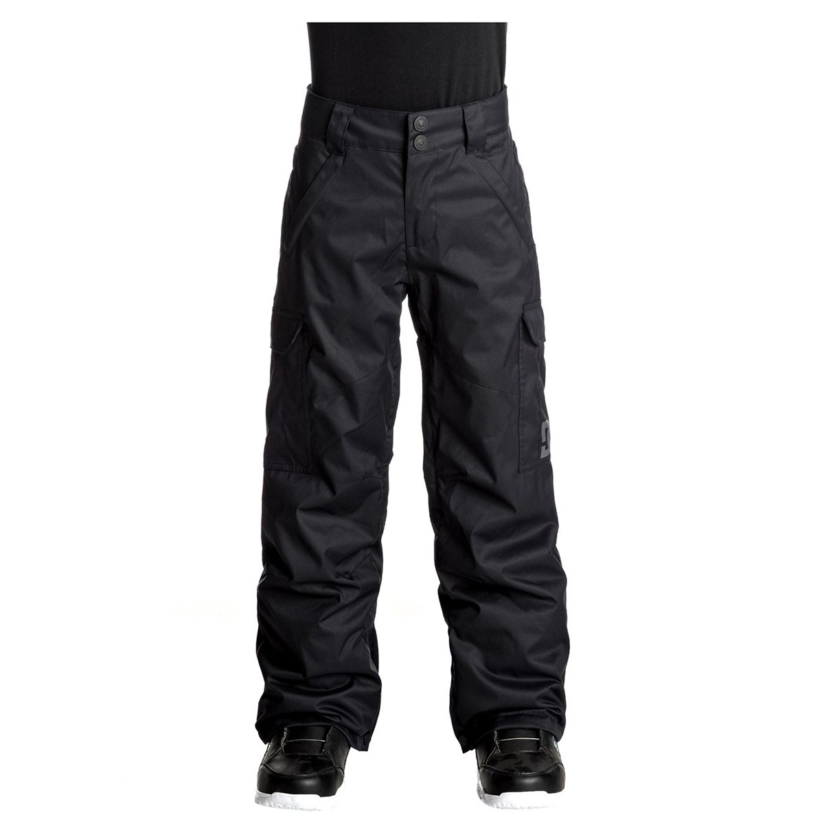 DC Boy's Banshee Snow Pants, Black, 2XL-16