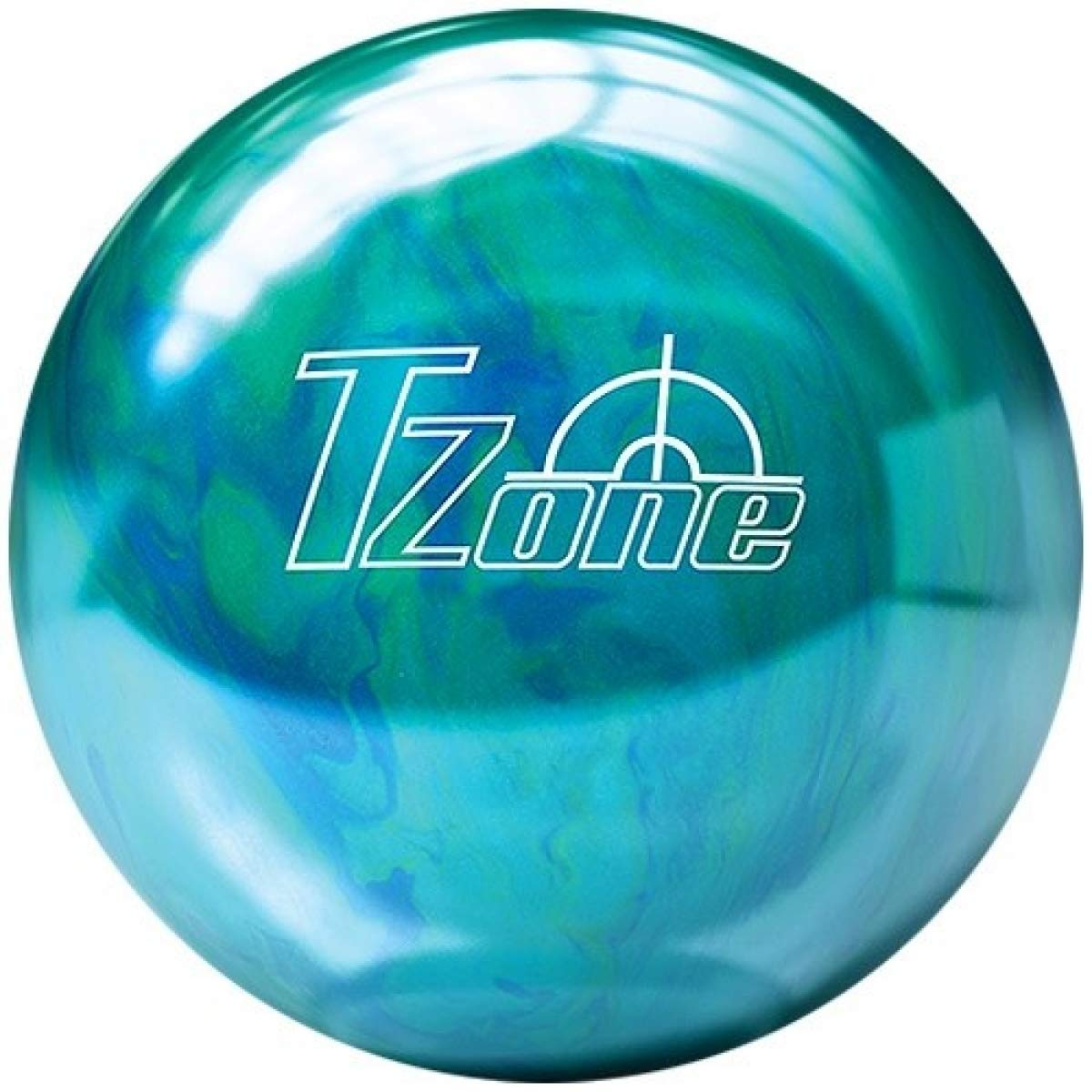 Brunswick Bowlingball TZone Arctic Blast Cosmic in Allen Gewichten